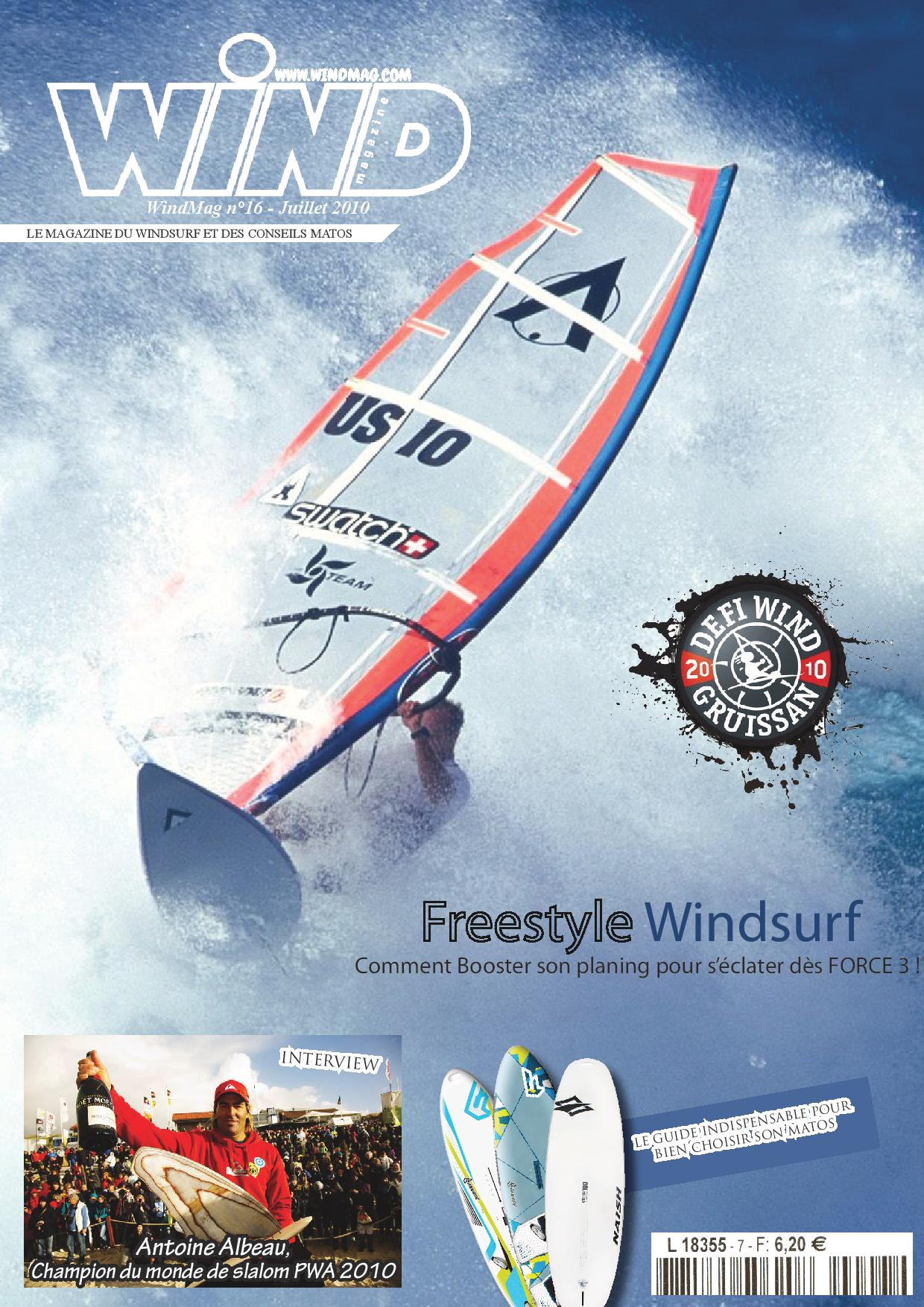 Couverture de magazine de Windsurf